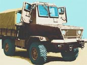 Samil 20 Kwevoel Armoured Trucks
